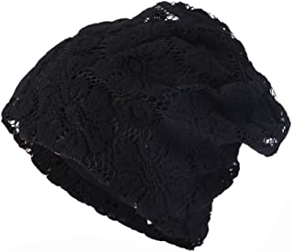Muranba Clearance Women Lace Floral Winter Warm Beanie Caps Hat