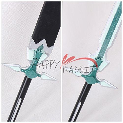 『ソードアート・オンライン Sword Art Online SAO桐ヶ谷 和人 キリト 白剣C★コスプレ 武器 道具』の4枚目の画像