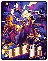 ガーディアンズ・オブ・ギャラクシー 4K Ultra HD+ブルーレイ 特別デザイン数量限定スチールブック仕様 [リージョンフリー 日本語収録(4Kのみ)](輸入版)