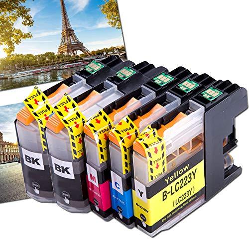 OGOUGUAN 5 LC223 - Cartuchos de tinta compatibles con Brother DCP-J562DW MFC-J4120DW J5320DW J880DW J5620DW J5625DW J680DW J4625DW J5720DW J4420DW J4620DW J480DW
