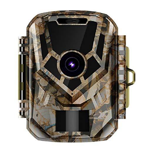 MC.PIG Wildlife Camera Trail Camera-12 Million HD Caméras de Chasse Outdoor 1080P Mini Caméra de Chasse Infrarouge Vision Nocturne Caméra de Chasse pour la sécurité extérieure et Domestique