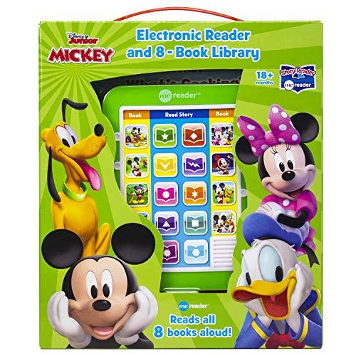 Disney Mickey Mouse - Me Reader Electronic Reader and 8 Sound Book Library - PI Kids