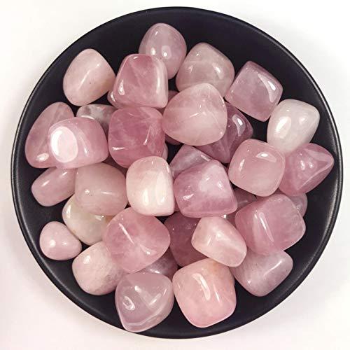 FISH4 100G 10-20MmCristal deCuarzo Rosa Pulido NaturalPiedra de Grava caída Piedras de Cristal curativo para Manualidades Diy-100G 20-40Mm, China