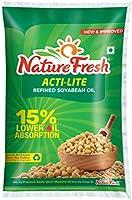 Nature Fresh Soyabean Oil Pouch, 1L