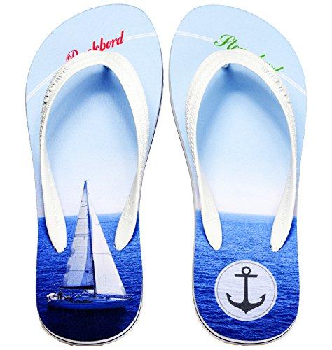 Palupas Geschenk für Bootsbesitzer zur Schiffstaufe Segelboot BB STB - inkl. GRATIS Schuhbeutel