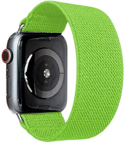 Cinturino Elastico Compatibile per Apple Watch 44mm 40mm 38mm 42mm Senza Fermagli o Fibbie Cinturino di Ricambio Scrunchie per iwatch Series 6 / se / 5/4/3/2/1