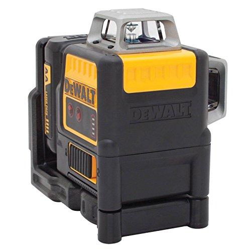 DeWalt DCE0811LR-XJ Linienlaser 2x360°,rot,m. Batterien
