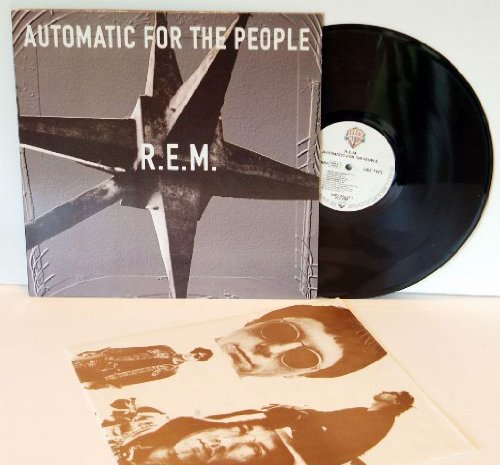 R.E.M. automatic for the people. Rare. Top condition printed in Germany, pressing for the UK 1992 on Warner Bros records, matrix 1-A and 1-B.