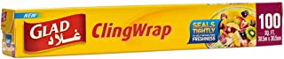 Glad Cling Wrap Clear Plastic Loop - 100 sq ft