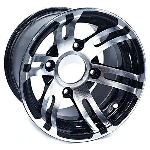 ATV 10inch rueda trasera aleación de aluminio llantas 10'x 7 quad off-road 4 ruedas motocicleta motocross (Color : A)