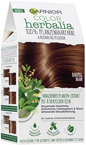 Garnier Color Herbalia - Tinte vegetal con henna, índigo y aceites esenciales, color vegano (1 unidad)