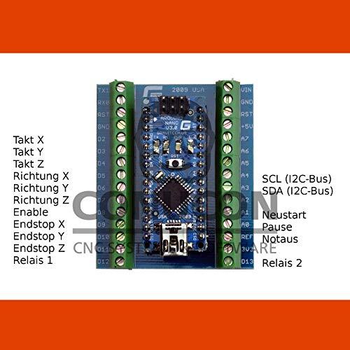 3D USB CNC Schrittmotor-Steuerung Vanilla mit Software