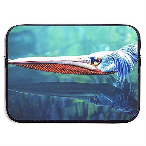 Laptop Sleeve Bag Cool Pelican Bird Prints 15 Inch Briefcase Sleeve Bags Cover Notebook Case