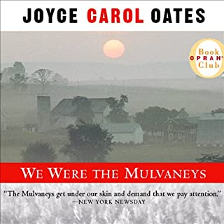 We Were the Mulvaneys audiobook cover art