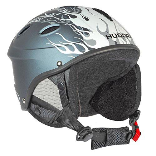 Hudora HBX Skihelm voor kinderen, maat 48-51 Helm Ski Snowboardhelm