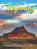 """Wyoming 2022 Calendar: 12-month Calendar - Gorgeous Mini Calendar 6x8"""" for planners with large grid for note"""