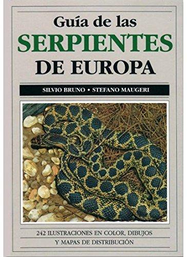 GUIA DE LAS SERPIENTES DE EUROPA (GUIAS DEL NATURALISTA-REPTILES -ANFIBIOS-TERRARIOS)