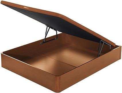 Flex - Canapé Abatible Madera 19-135X190, Color Cerezo