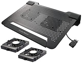 Cooler Master NotePal U2 - Laptop Cooling Pad with 2 Movable Fans