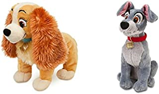 Disney Store Exclusive Bundle 14 Lady and 16 Tramp Plush