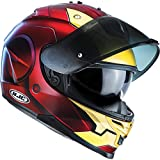 I7IXXS - HJC IS-17 Iron Man Motorcycle Helmet (Limited Edition Marvel) XXS MC1