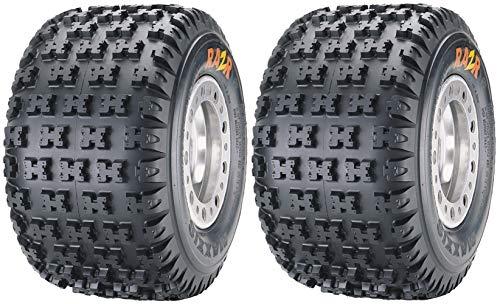 Maxxis M-932 RAZR MX - Neumático para bicicleta (2 unidades, 18 x 10-8, 22J)