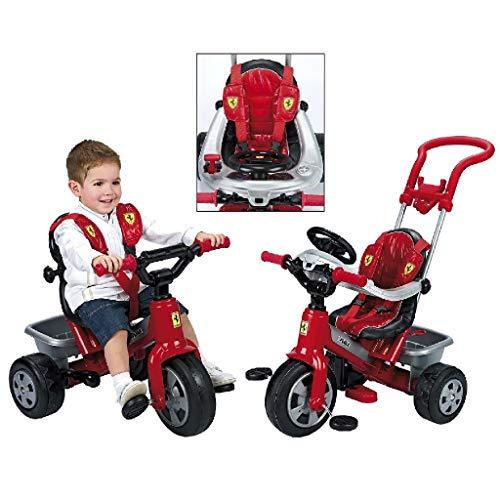 Coche triciclo para bebés FEBER Ferrari