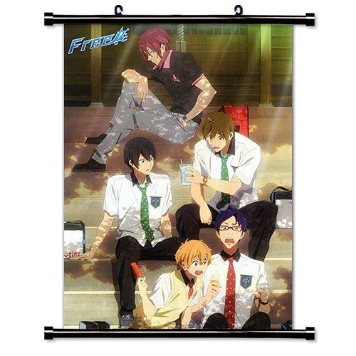 Free! Iwatobi Swim Club Anime Fabric Wall Scroll Poster (16 x 23) Inches by Anime Wall Scrolls