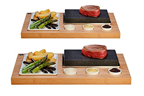 2 x The SteakStones Sizzling Steak Set and Save £10