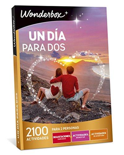 WONDERBOX Caja Regalo para la Navidad -UN DÍA para Dos- 2.100 Actividades para Dos Personas