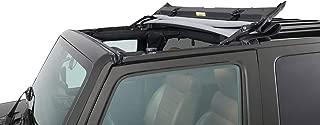 Bestop 52450-17 Black Twill Sunrider for Hardtop for 2007-2018 2-Door and Unlimited