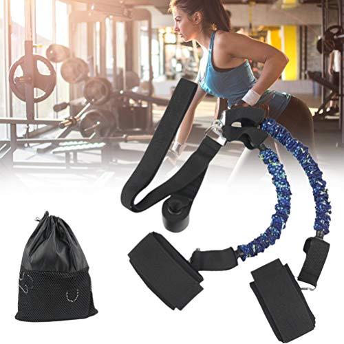 OUCRIY Juego de bandas de resistencia para la cadera, bandas elásticas duraderas, para entrenamiento de fitness, para casa, gimnasio, entrenamiento y deporte