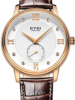 EYKI Dress Watch For Men Analog Leather - EET1016L