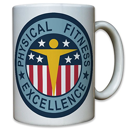 PT Badge Physical Fitness Excellence Test Sportabzeichen USA - Tasse #10467 T