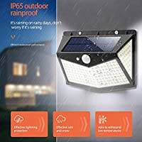 Garden Solar Lamps 212LED Outdoor Road Yard Motion Sensor Wall Lights Automatically RechargingFence Landscape Decoration