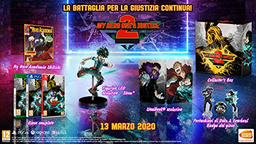 My Hero : One's Justice 2 Collector pour PS4