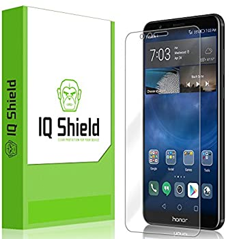 IQ Shield Screen Protector Compatible with Huawei Honor 7X  Huawei Mate SE  Full Coverage  LiquidSkin Anti-Bubble Clear Film