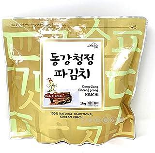【江原東江】ガンウォンドンガン 白菜キムチ 「韓国産」(1kg) (ネギキムチ)