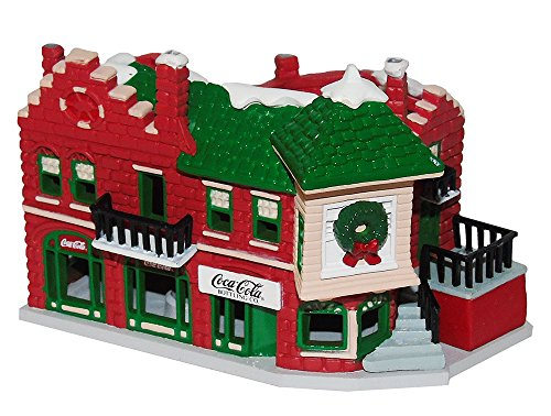 Coca-Cola Décoration de maison Pemberton avec bâtiments historiques.