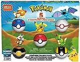 Mega Construx Pokemon Poke Ball Bundle Exclusive