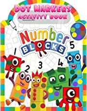 Numberblocks Dot Markers Activity Book: Numberblock Do a Dot Coloring Book, Dot Markers Activities Art Paint Daubers For Toddler, Preschool, Kindergarten, Girls, Boys Kids Ages 2-4, 3-5