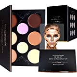 Youngfocus Cosmetics Cream Contour Best 8 Colors and Highlighting Makeup Kit - Contouring Foundation/Concealer Palette -...