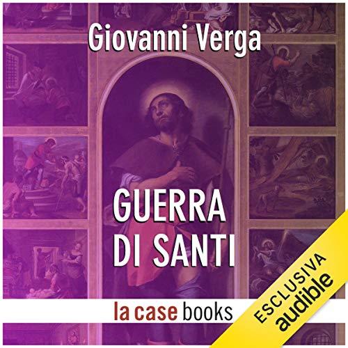 Guerra di santi audiobook cover art