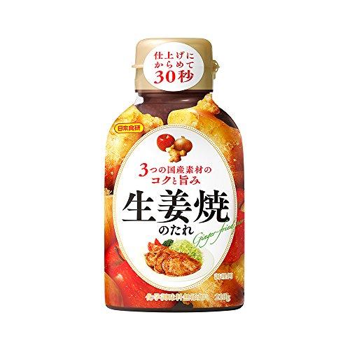 日本食研 生姜焼のたれ 210g×3本