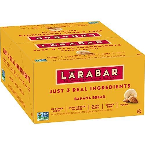 Larabar Fruit & Nut Bar, Banana Bread, Gluten Free, Vegan, 16 ct, 25.6 oz
