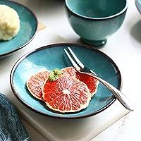 セラミック皿小さなフルーツプレート朝食皿6インチ家庭用ソーサー