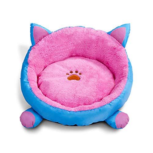 morbido tappetino per animali domestici, lavabile, caldo tappetino rotondo per cani di piccola taglia, cuscino per cuccia rimovibile per gatti, cani 38 cm