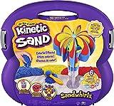 Kinetic Sand Sandwhirlz Juego con 3 Colores de Arena cinética (907 g) y más de 10 Herramientas, para niños de 3 años en adelante