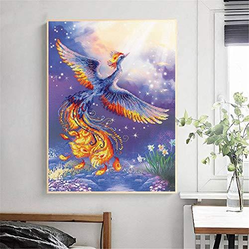 DIY 5D pintura de diamante punto cruz Kit números flor mariposa pájaro diamond painting adultos niño Completa Crystal Rhinestone Bordado Manualidades para 40x80cm