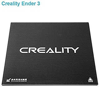 Ender 3 Creality 3D Printer Platform Tempered Glass New Upgraded Heated Bed Build Plate Surface 235x235x3mm for Ender 3/ Ender 3 Pro/Ender 5